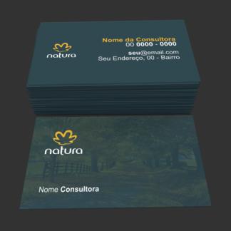 cartão de visita natura - modelo 01