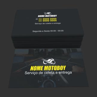 Cartão de visita Mototaxi e motoboy - modelo 05