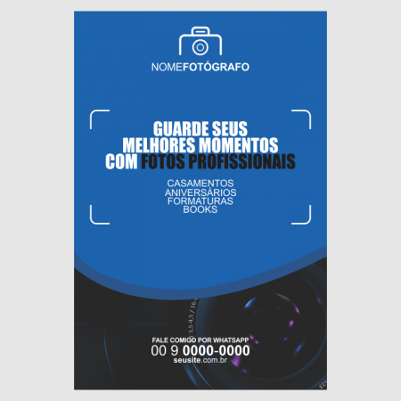 panfleto fotografo - modelo 01